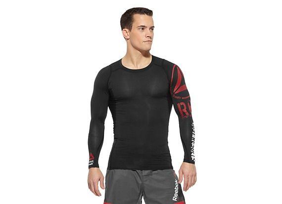Men's Reebok CrossFit Compression Top Long Sleeve Tops Z25688