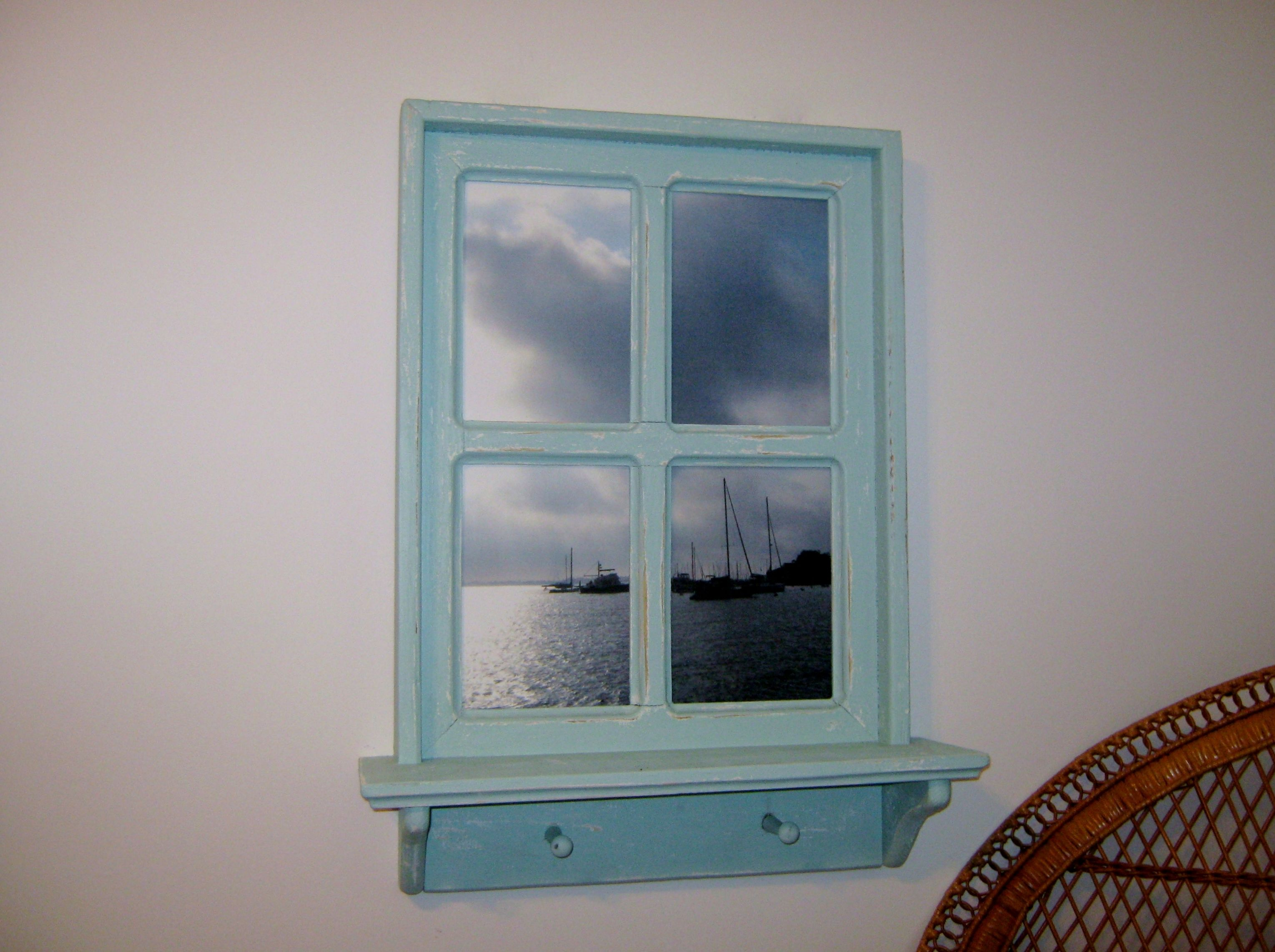 Shabby Chic Faux Window Frame Photo Of Spa Creek In