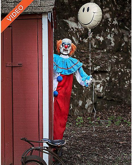 5 Ft Evil Clown Animatronics - Decorations Pinterest Evil clowns