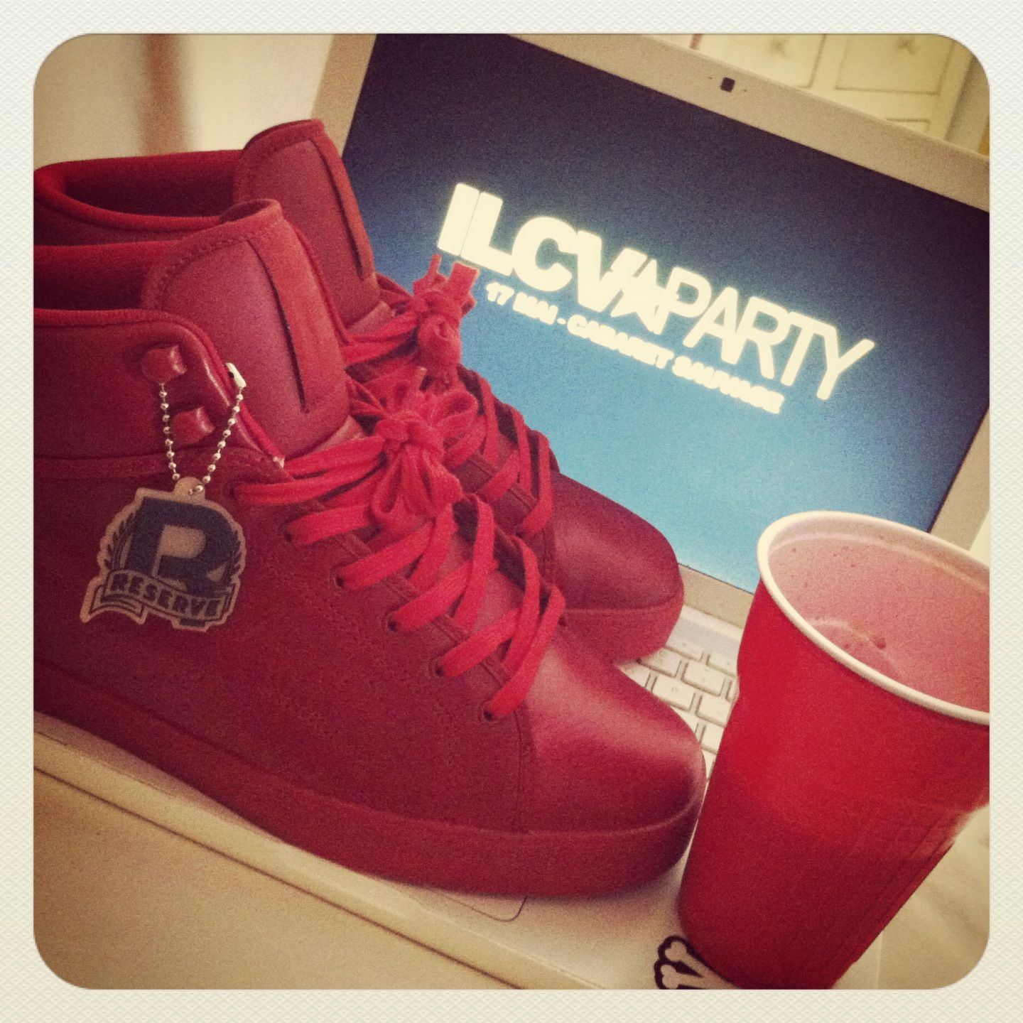 3a4995fd7ab I ve all red raww for the ilcv party baby reebok tyga jpg 1440x1440 Tyga  reebok