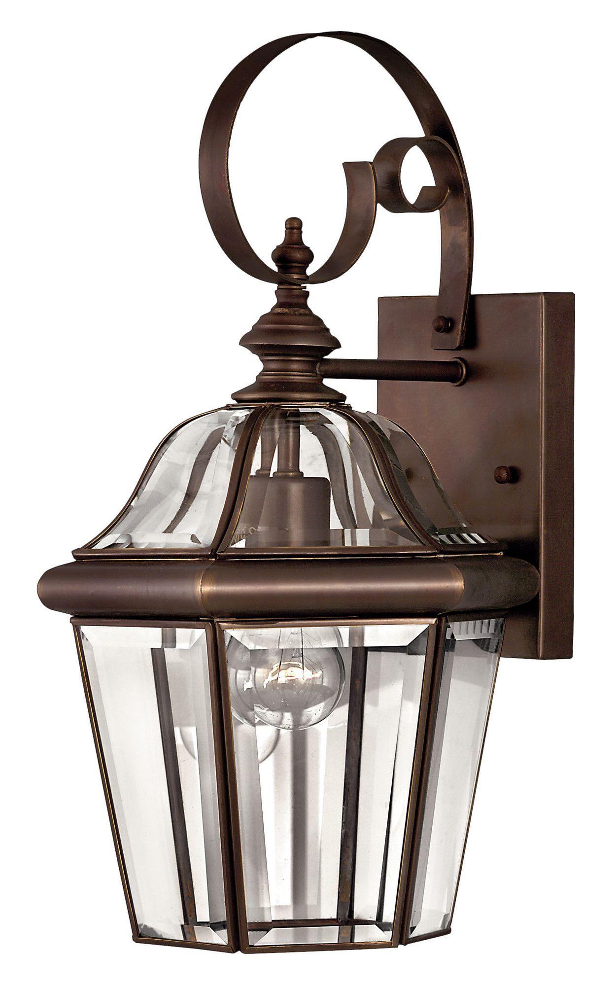 Augusta 1 Light Wall Lantern