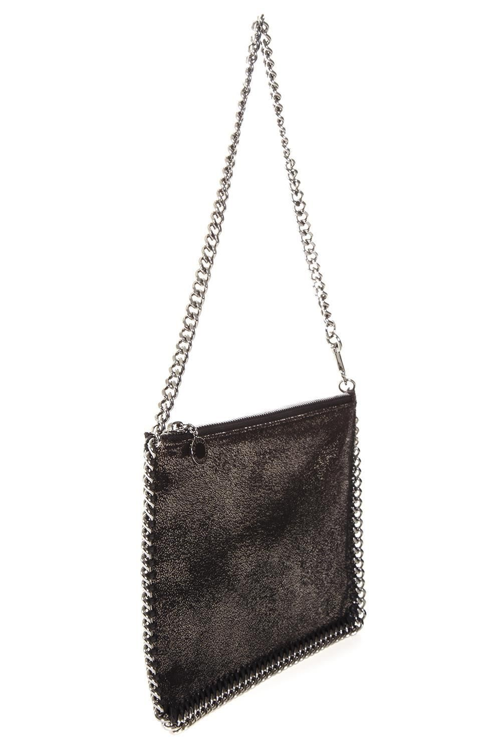 81377d6ff5f9  xmas  Christmas  Italist -  Stella McCartney Stella McCartney Ruthenium  Falabella Shaggy Deer