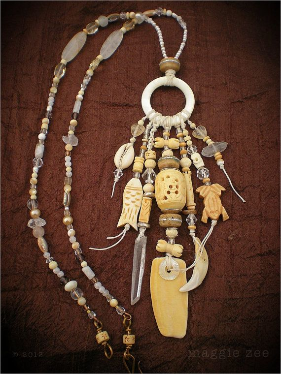 Amulet Jewelry Pendants Sothon: Sea Dreaming Shaman Amulet Necklace