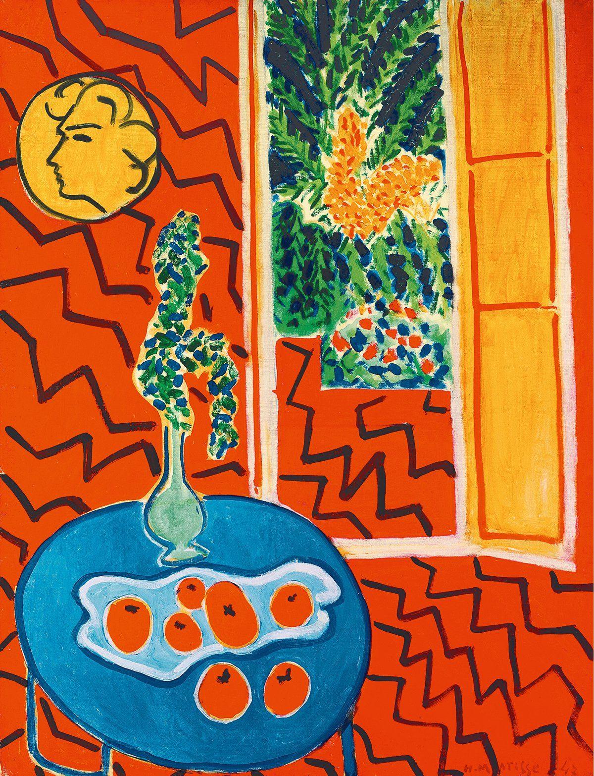 Картинки по запросу красный интерьер натюрморт на синем столе