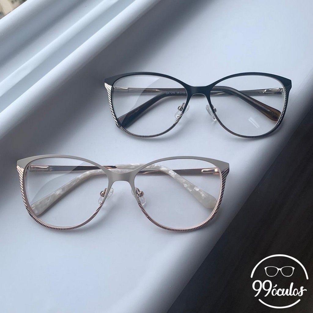 Armacao Para Grau Gatinho Atlanta 99 Oculos Em 2020 Armacoes