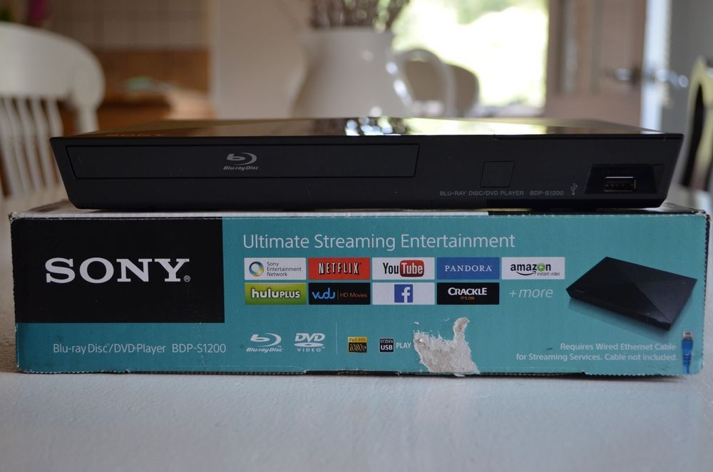 9ecadf4db Sony BDP-S1200 Blu-Ray Player w/Streaming Internet Netflix Pandora Hulu  YouTube #electronics #sony #sales #ebay #hometheater #bluray #movies