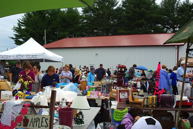 Yard Sale Today at The Cumberland Fair Grounds  Cunberland ,Maine
