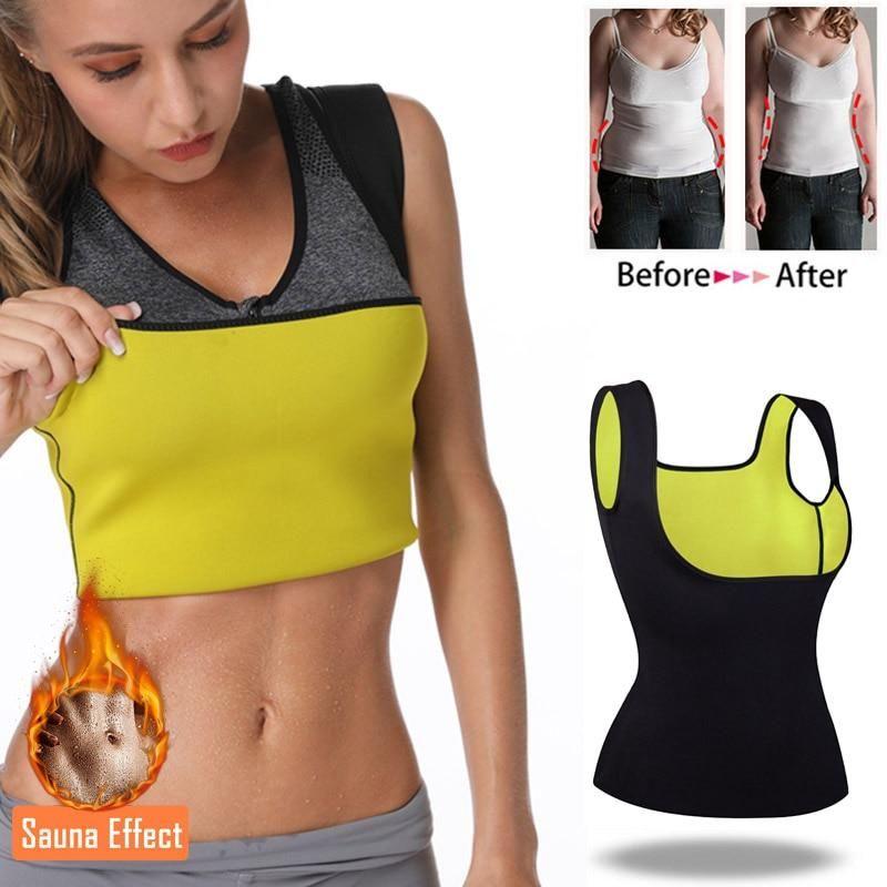Neoprene Sauna Thermo Sweat Body Shaper Waist Trainer Slimming Sport Shapewear