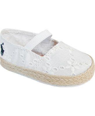 a682c0f42 Ralph Lauren Baby Girls' Bowman Espadrilles | must have | Kid shoes ...