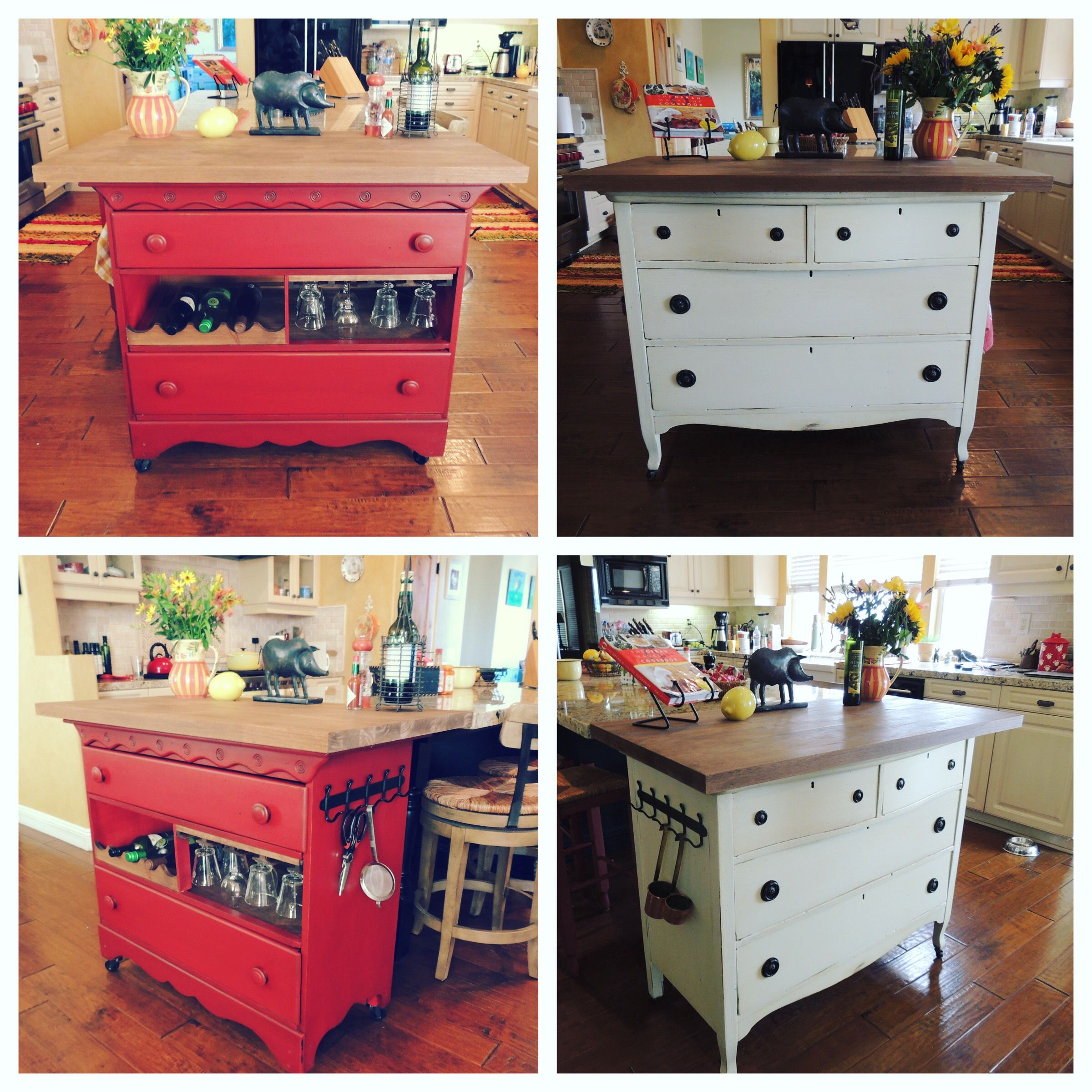 Introducing Our Two Newest Girls Scarlett Red And Francis Ivory Do You Love Scarlett S Wine Rack And Bar H Vintage Kitchen Unique Items Products Kitchen