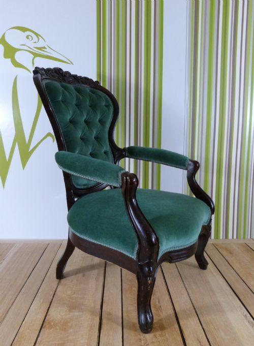 Exceptional VICTORIAN OCCASIONAL CHAIR £395