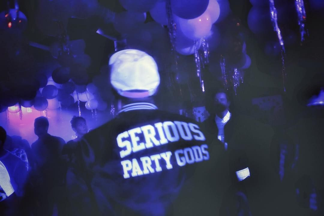 SERIOUS PARTY GODS  by cyndy_fike