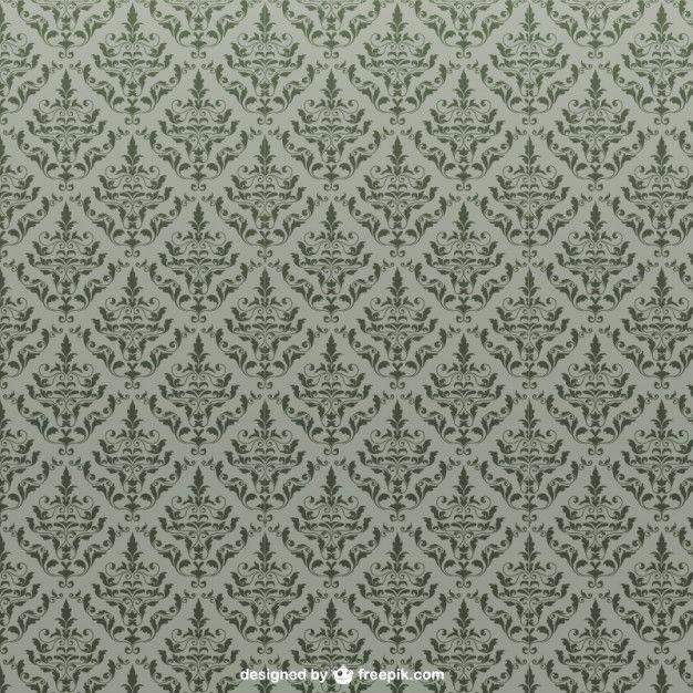 Vetor padrão sem emenda floral Vetor grátis