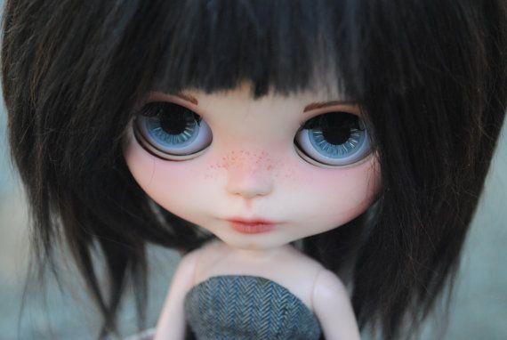 OOAK art doll takara blythe custom Maude by BellaDollaCreations