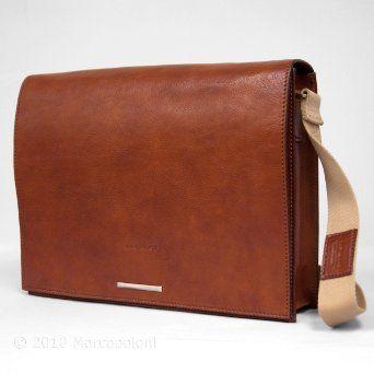 LAVORO - Italian Leather Laptop Messenger Bag $285