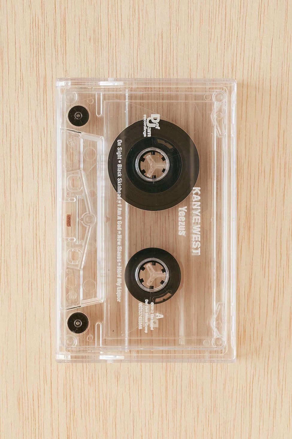 Kanye West - Yeezus Cassette Tape
