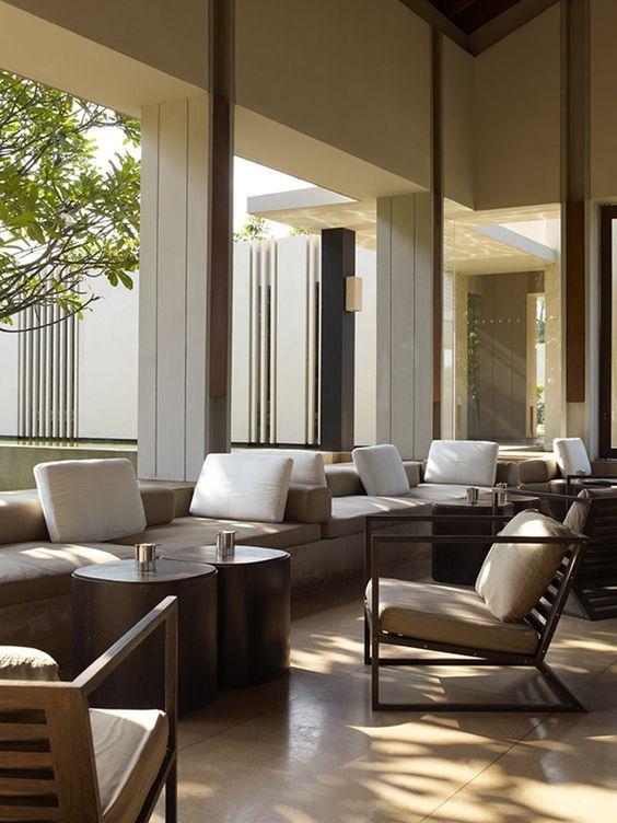 Kerry Hill Architects Amanwella Tangalle Lounge Interiors