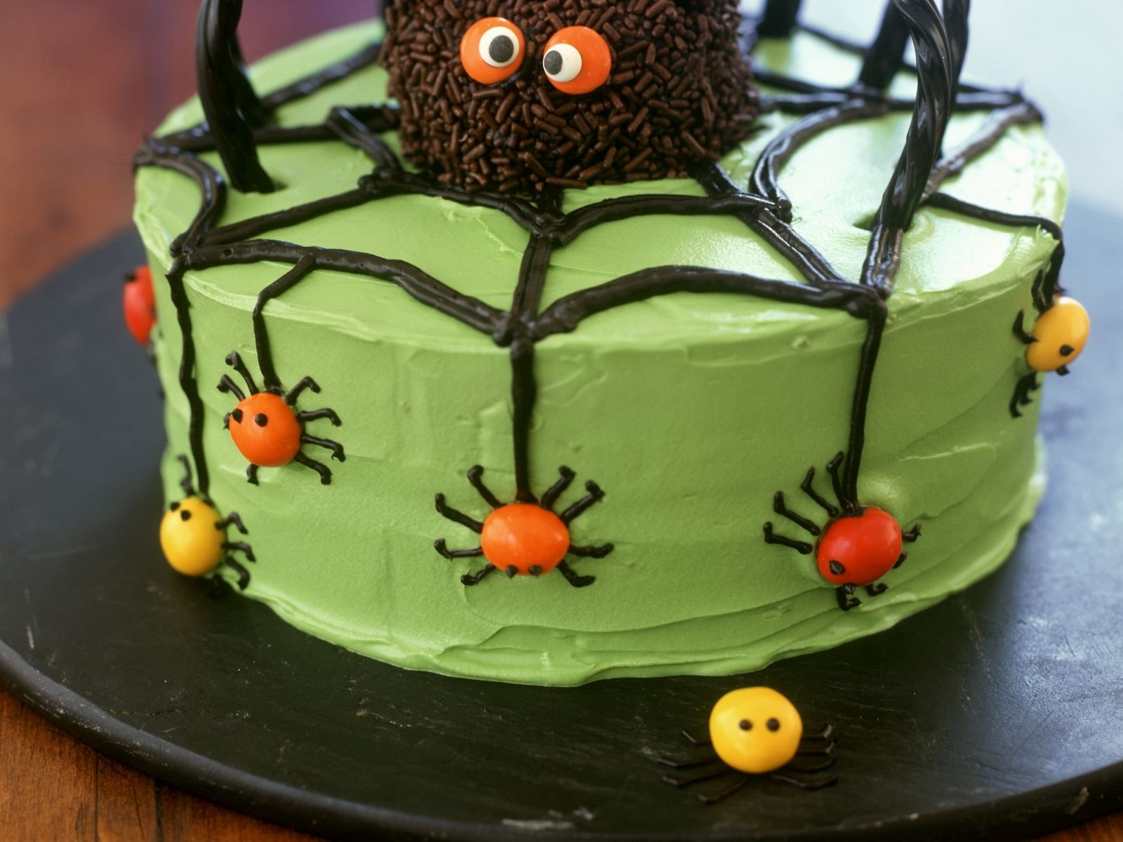 Spinnentorte Rezept Halloween desserts, Halloween