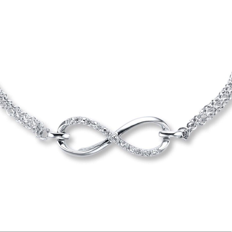 Kay Jewelers Diamond Infinity Bracelet Infinity Jewelry