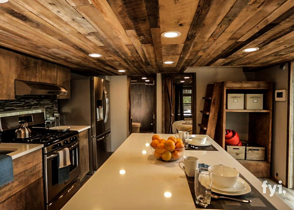 An Rv Tiny House In Cobleskill Ny Made By Lil Lodges Of