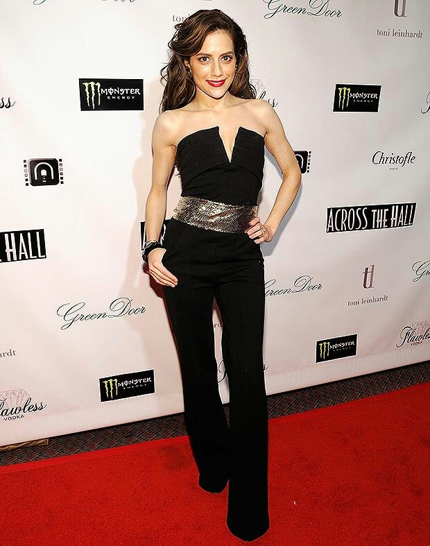 Brittany Murphy Strapless Dress Formal Brittany Murphy Formal Dresses