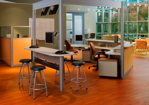 Post And Beam, Verge And Criterion | Nurture By Steelcase U2013 Healthcare  Furniture