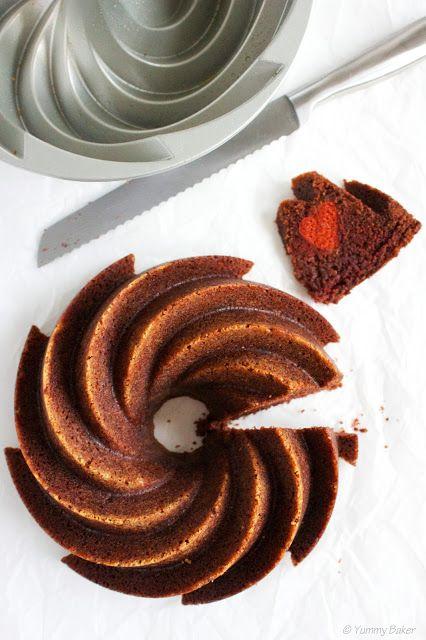 Suklainen maustekakku ystävänpäiväksi // Chocolate pound cake for Valentines Day <3