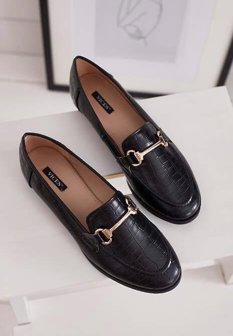 Czarne Mokasyny Barnard Shoes Loafers Shopping