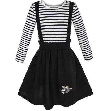 e718087df Dresses For Teens Casual School Outfits Beautiful Girls Dresses In Black  Color – Sunny Fashion