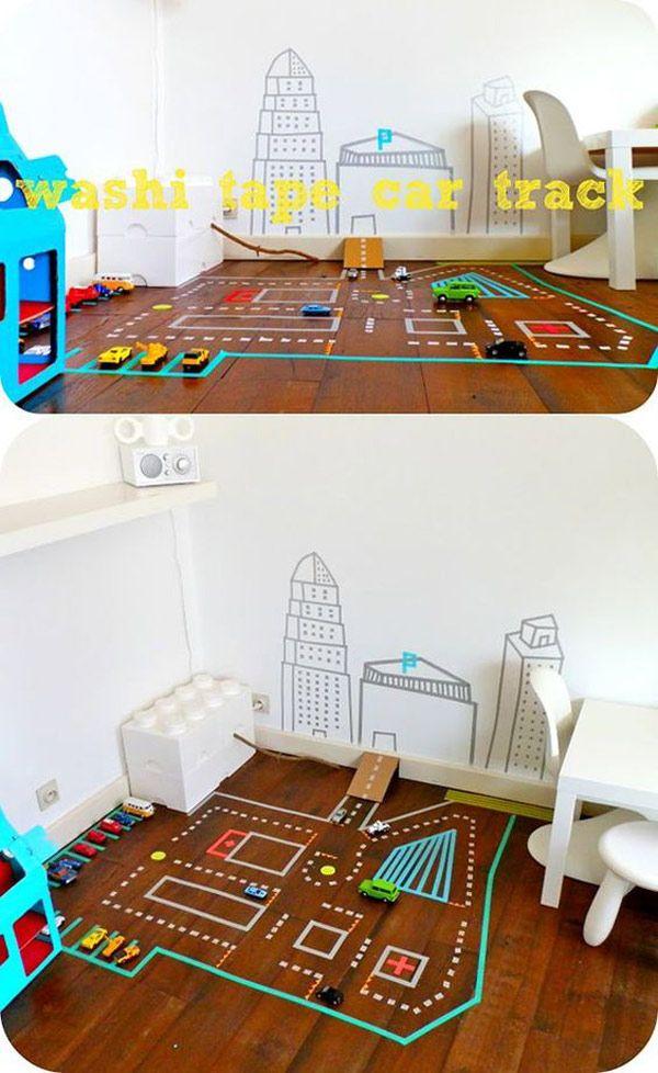 Proyectos con washi tape   Washi, Ciudad y Juego