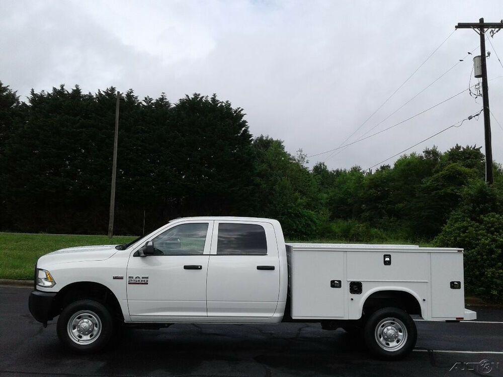 2018 ram 2500hd tradesman 4x4 crew service truck ram