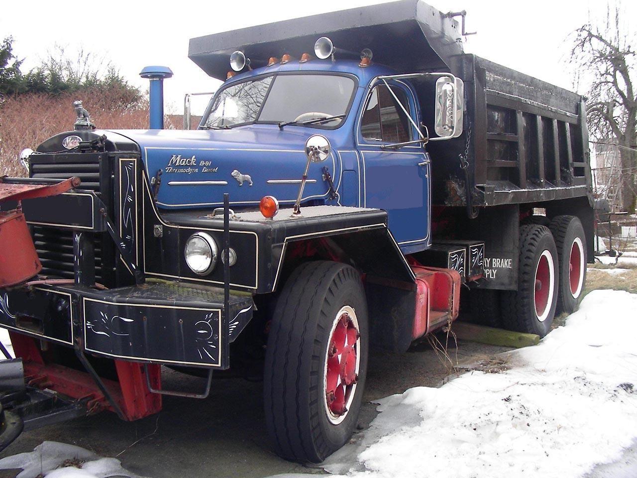 Mack B81 Photos News Reviews Specs Car Listings Big Trucks Trucks Dump Trucks