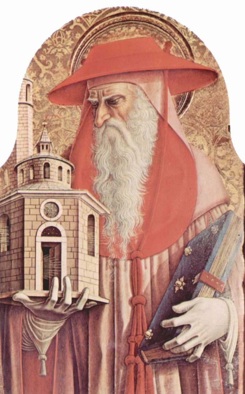 Carlo Crivelli 1435 1495 Polittico Di Sant Emidio San Gerolamo Dettaglio Cattedrale Di Sant Emidio Ascoli Tatoeage Inspiratie