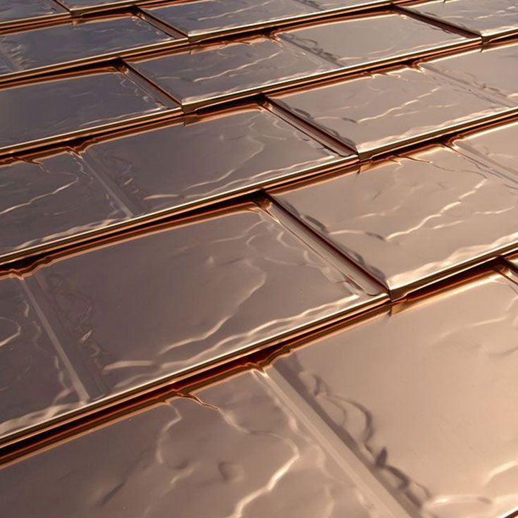 A Premium Choice For Your Roof Copper Roof Metal Roofing Systems Aluminum Roof