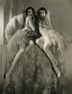 Historic Photo Print A 1920s Burlesque Flapper