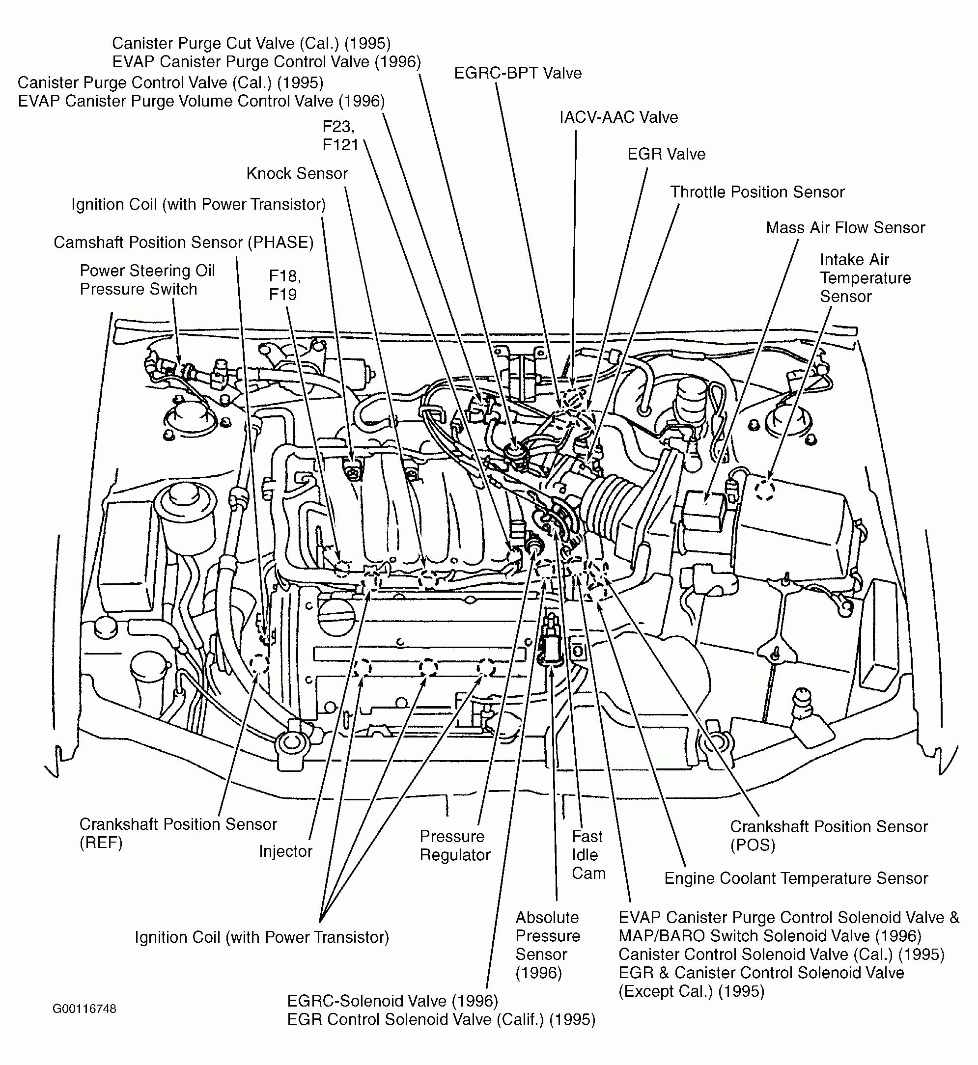 96 Sentra Engine Diagram