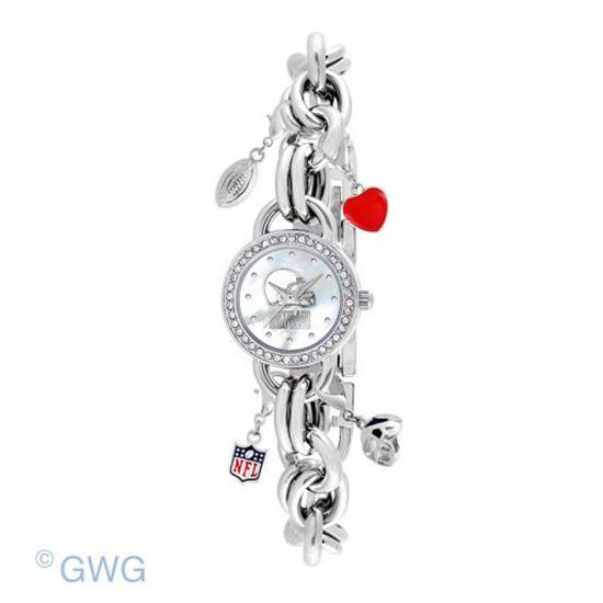 Cleveland Browns Game Time NFL Charm Bracelet Women's Watch