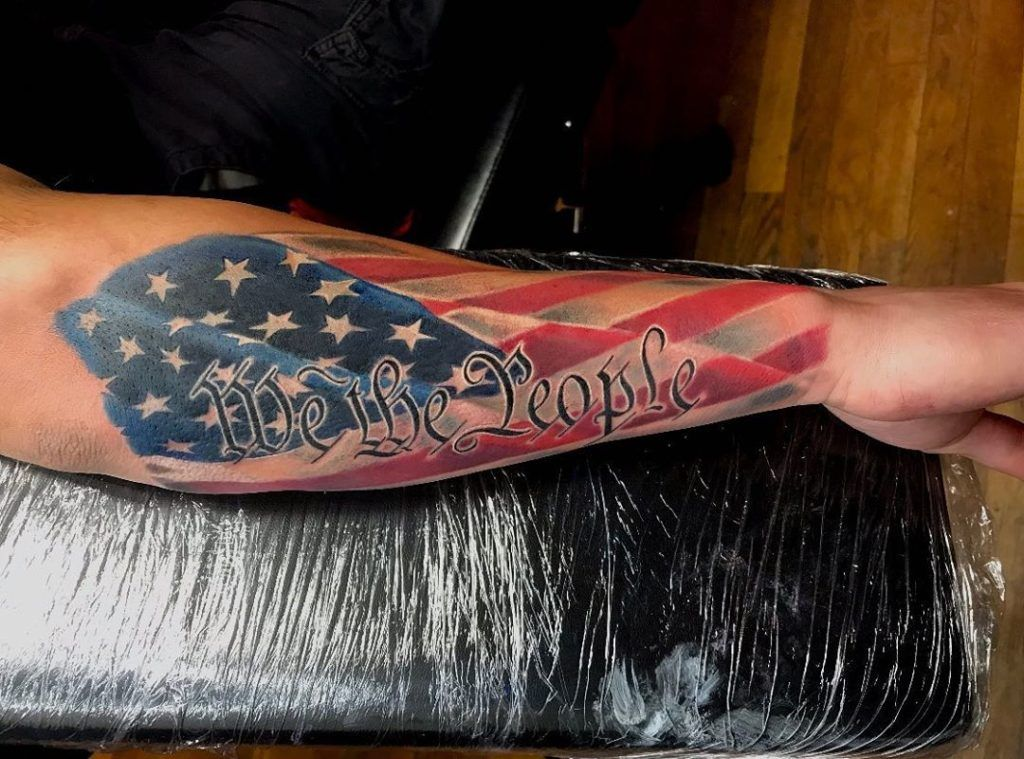 50 awesome american flag tattoo ideas outsons