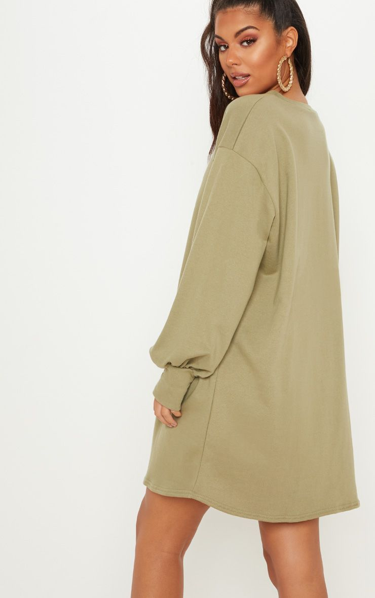 a7360a829a3 Sage Green Oversized Sweater Dress in 2019