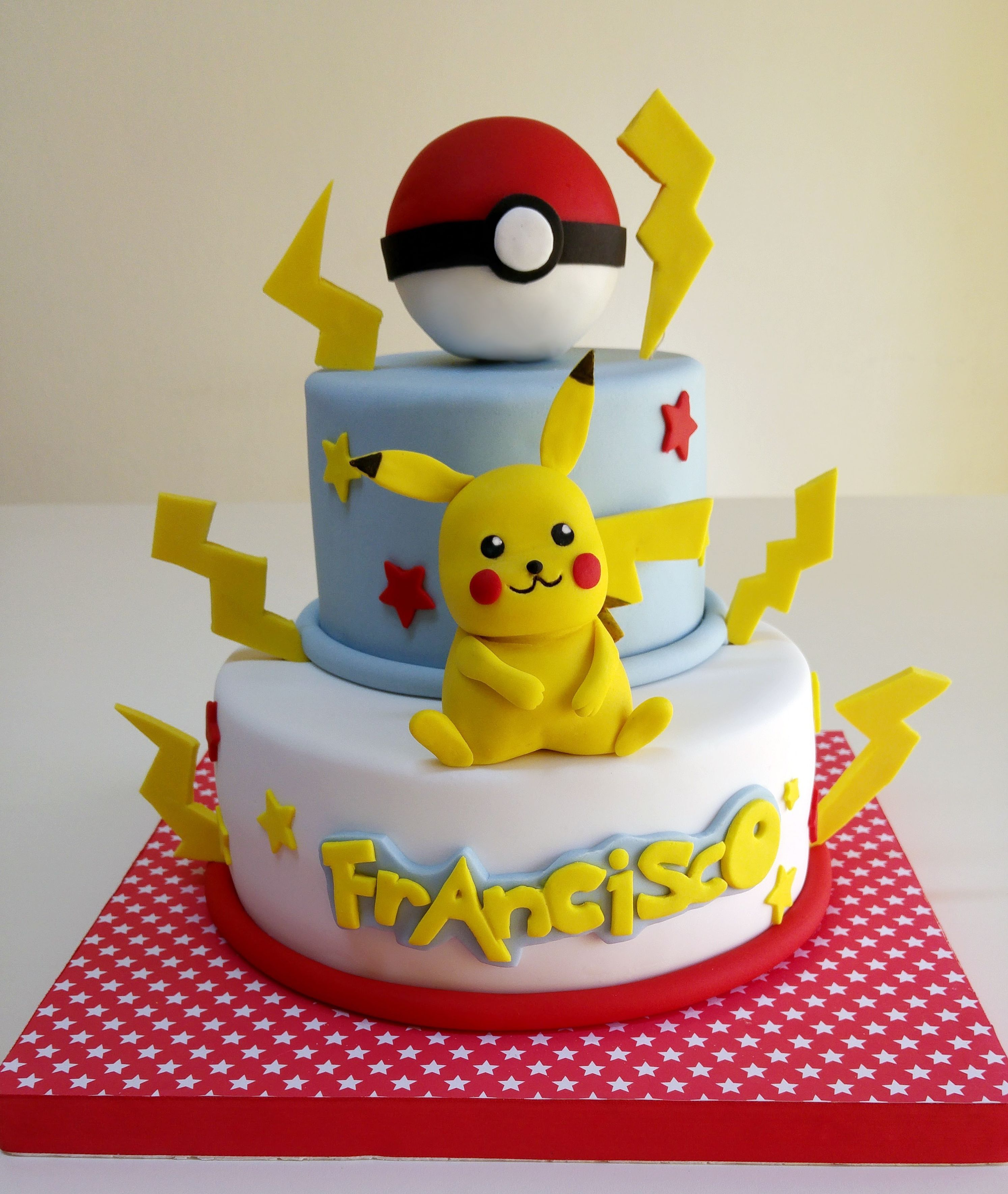 Pokemon Kuchen Rezept Pokemon Cake More Torten Tortas De Pokemon Tarta Pokemon Und