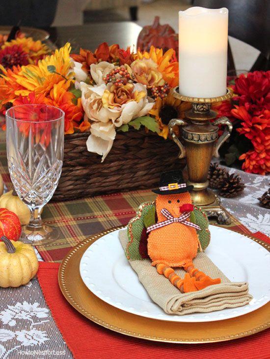 setting thanksgiving table ideas