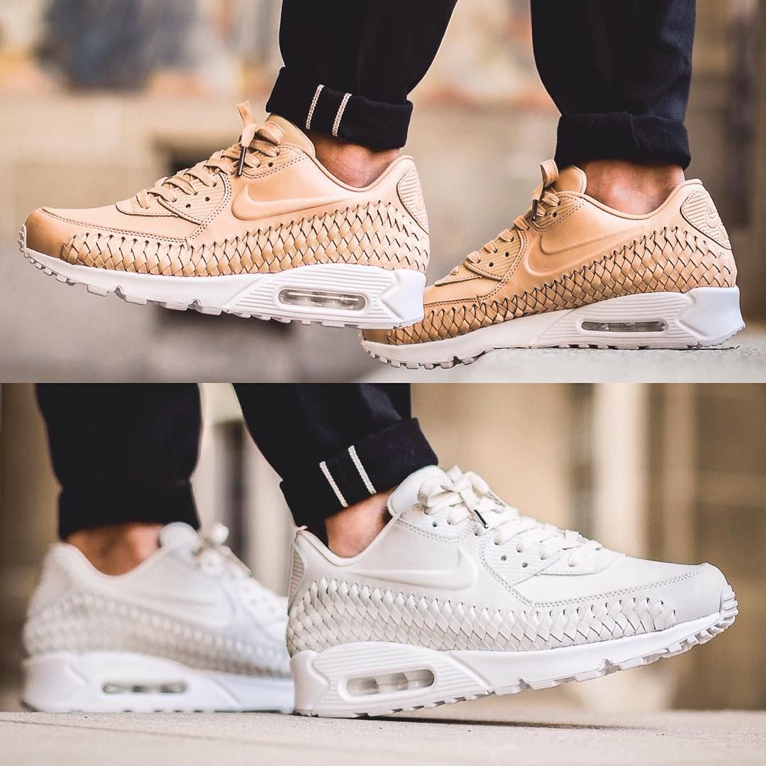 sports shoes 0f58b bf7c0 Nike Air Max 90 Woven - Vachetta Tan and Phantom available now in-store and  online  titoloshop Berne   Zurich