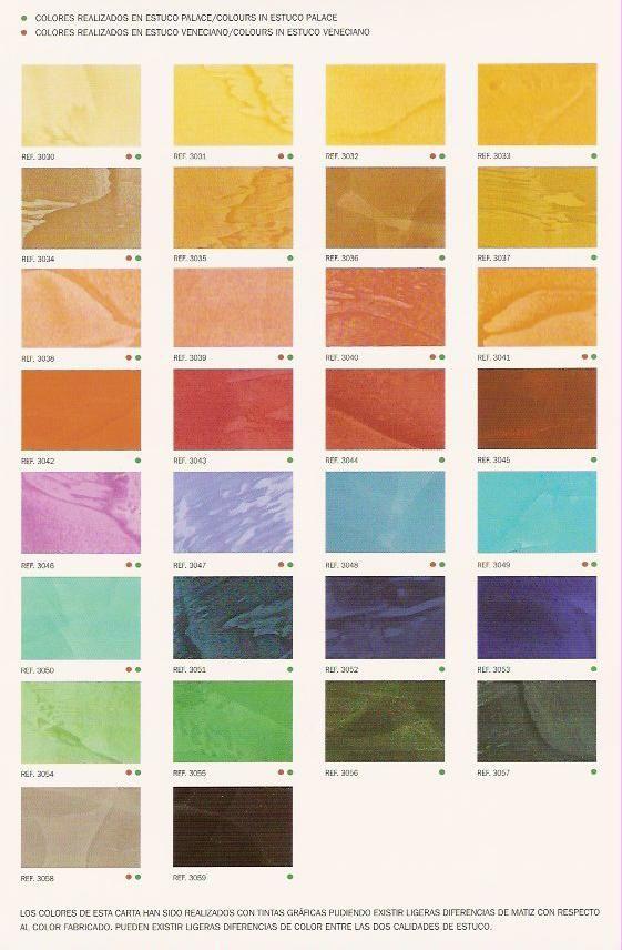 Paleta De Colores Pintuco En Colores Tierra Estuco Paredes Estuco Estuco Veneciano