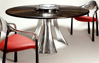 John Makepeace    Furniture Designer and Maker    'Wave' Table and Chairs
