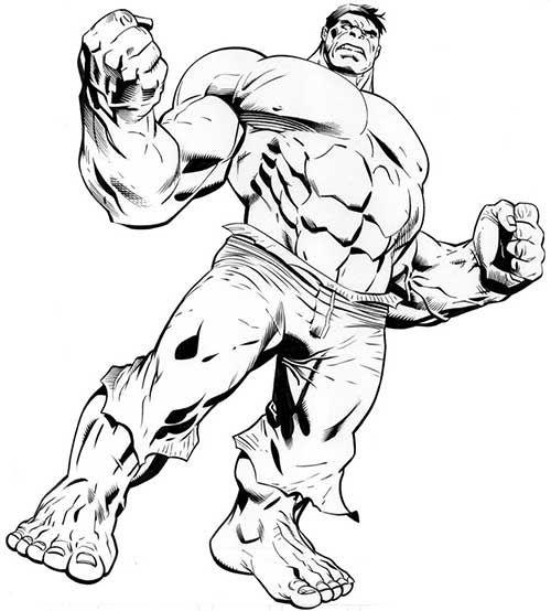 35 Desenhos de Super Herois para Colorir em Casa! | niver ...