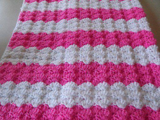 Pink Shells Baby Blanket Crochet Pinterest Blanket Crochet