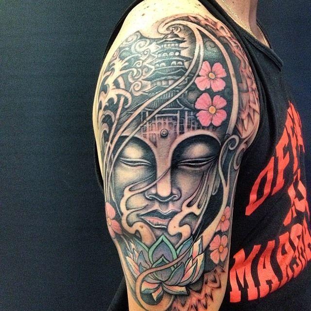 Japo Tattoo Buddha Tattoos Buddhism Tattoo Buddhist Tattoo