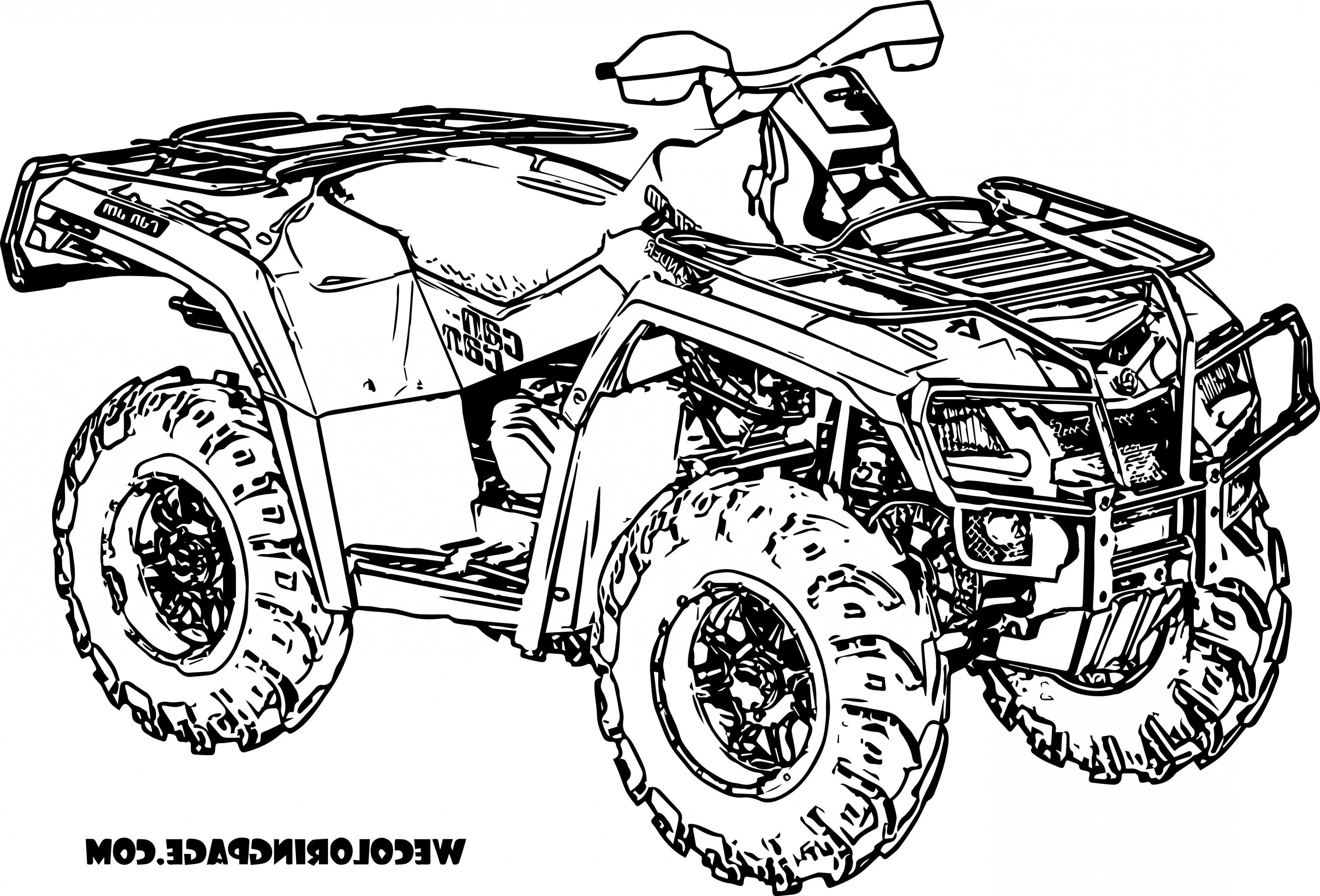 The Latest Trend In Quad Coloring Pages Coloring Truck Coloring Pages Cars Coloring Pages Coloring Pages To Print