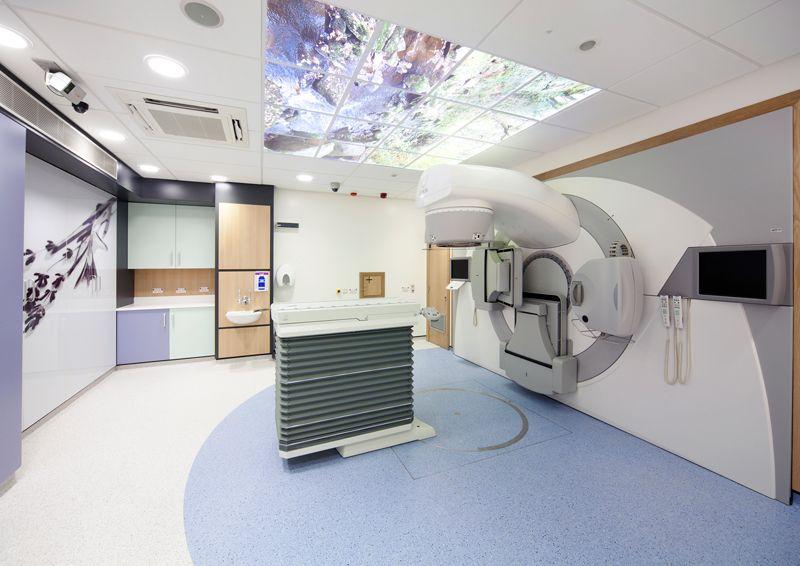 Endeavour unit hospital interior ventilation system