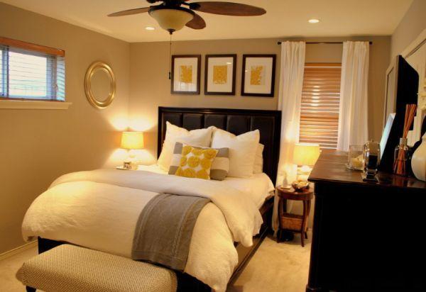 C mo elegir el color adecuado para pintar una habitaci n - Pintar habitacion pequena ...